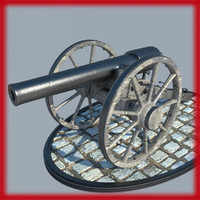 2 CIVIL WAR CANNONS