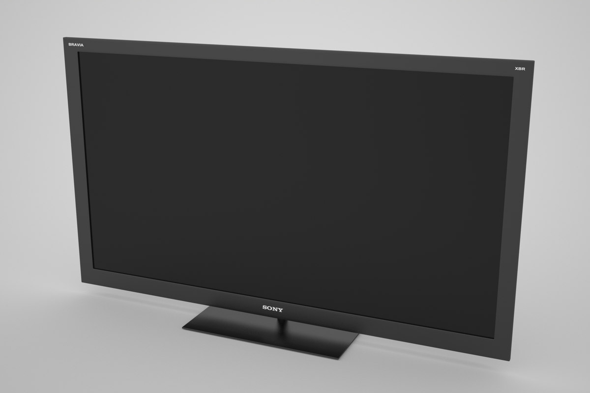 flat panel tv stand 3d max
