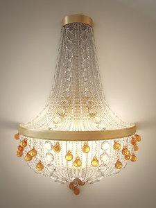 3d model wall lamp baga