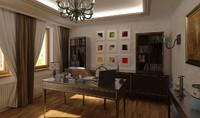 scene office 3d model