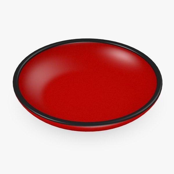 asian bowl 3d max