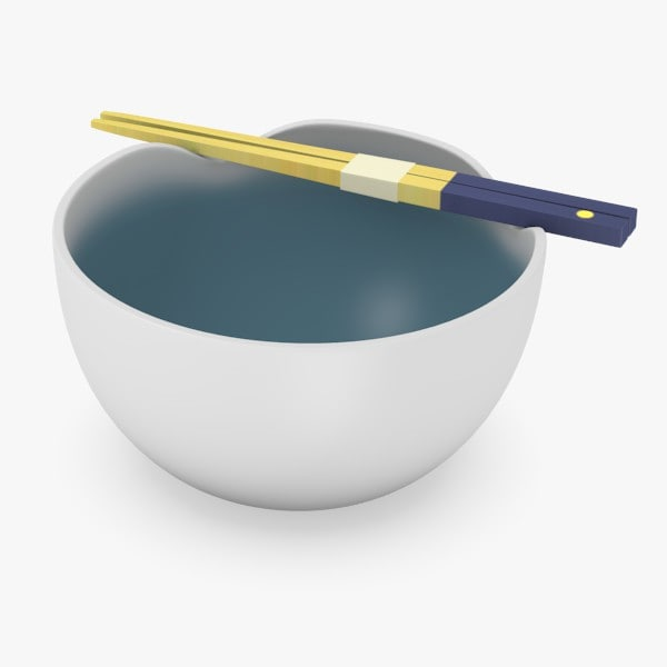 maya bowl chopsticks