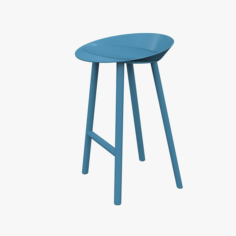chair bar e15 3d model