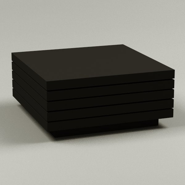 3d obj coffee table
