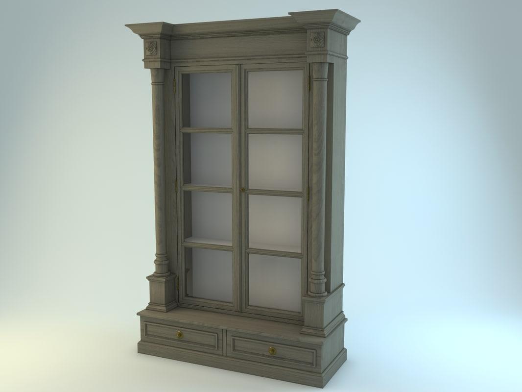 3ds max charrell eichholtz cabinet
