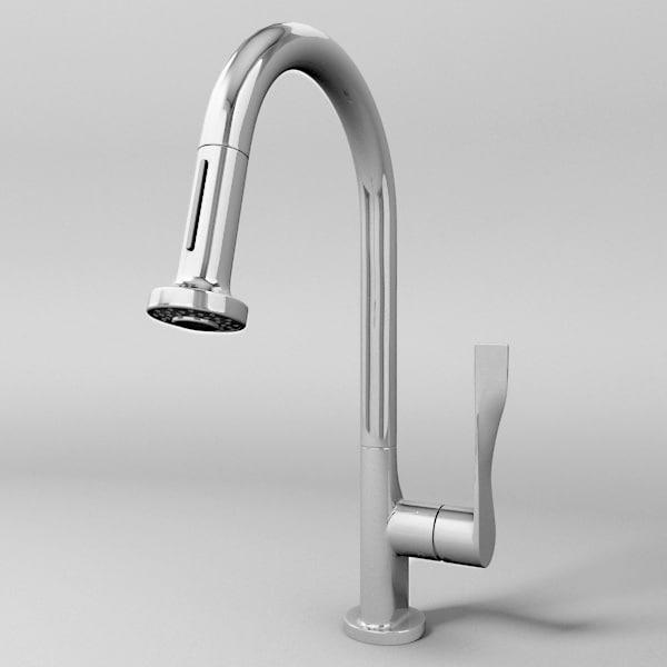 3ds kitchen faucet
