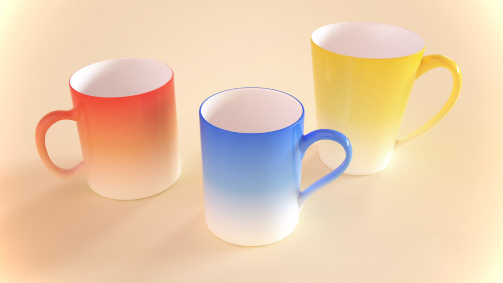 3ds max mugs materials