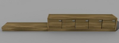 cabinet home 3d model
