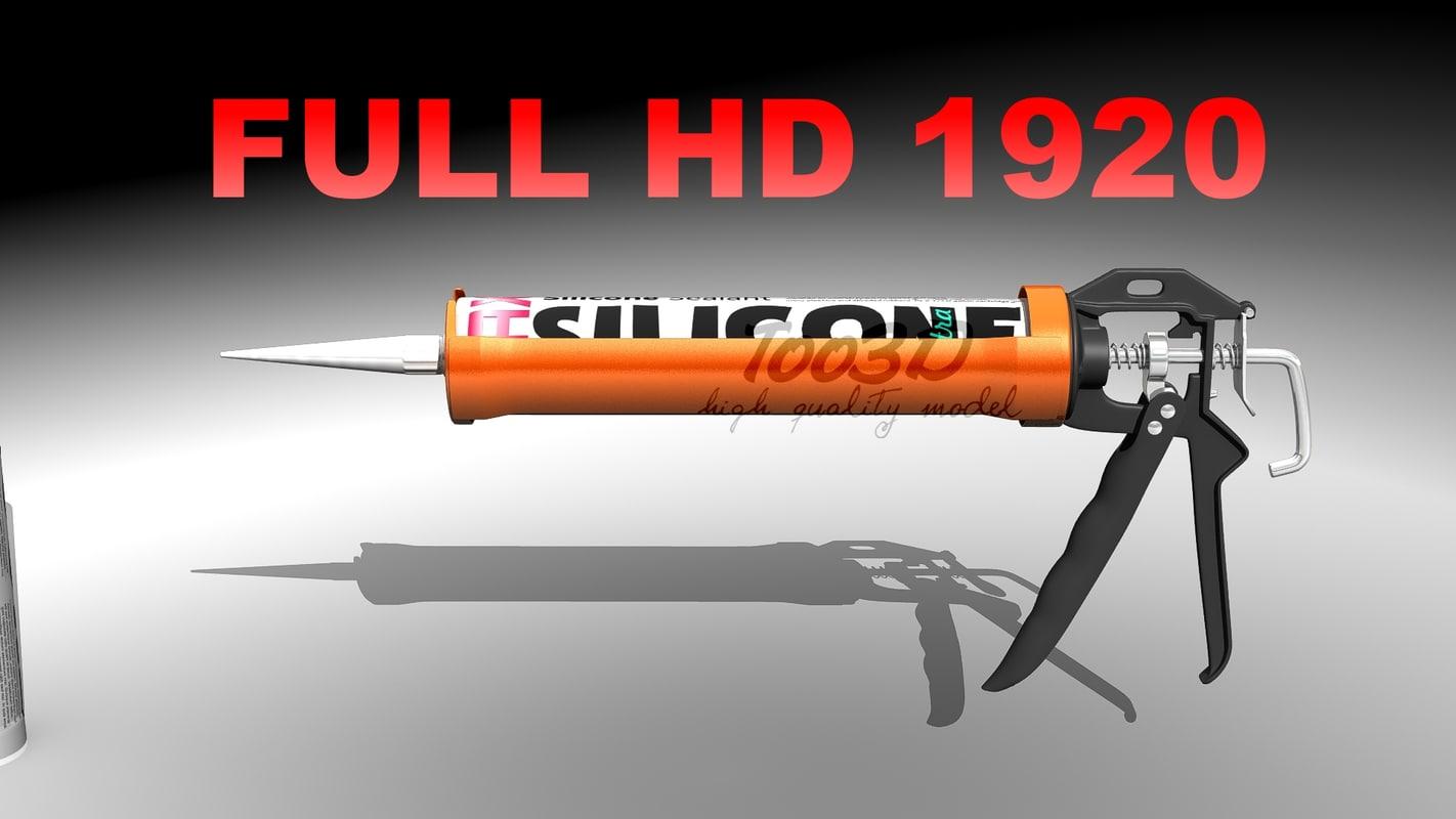 silicone gun max
