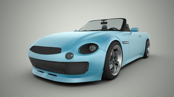 concept car wlf 3ds