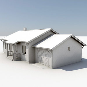 3d max story house