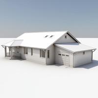 3d story house model