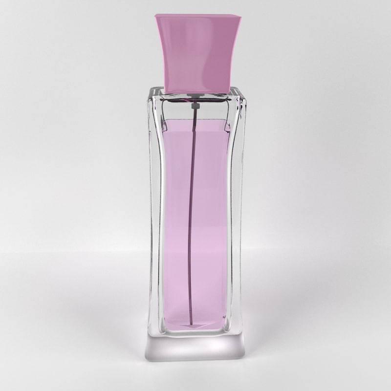woman perfume 3d model