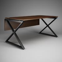 3d model office desk 26