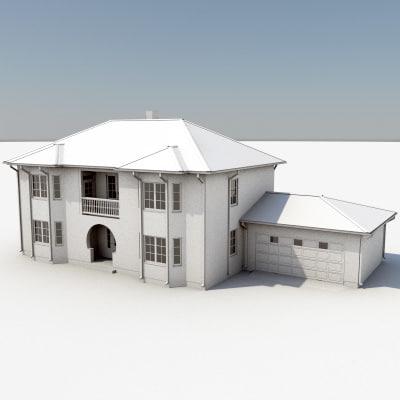 story house 10 3d model