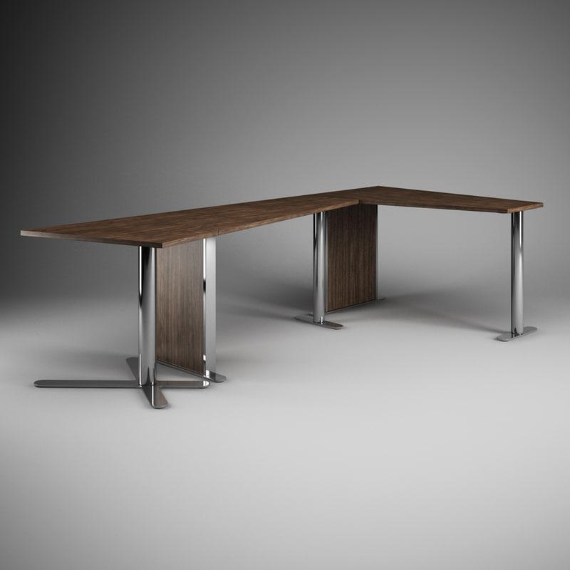 3d office desk 39 model