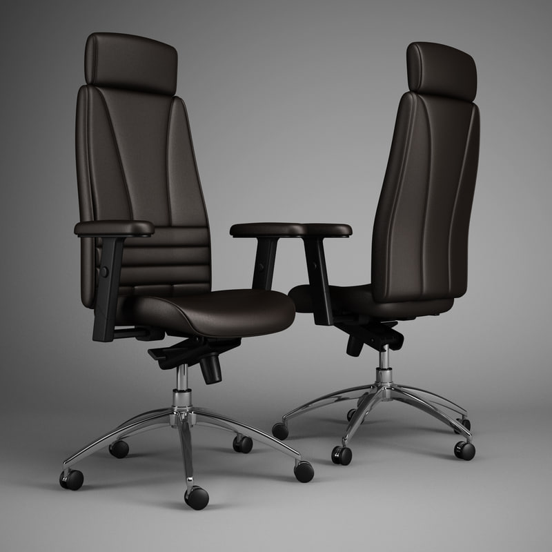 3d office chair 47 model