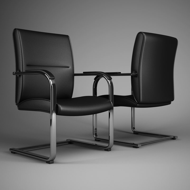 office chair 55 3d model