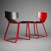 office chair 59 3d model