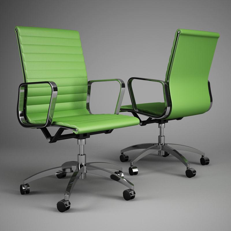 office chair 65 3d model