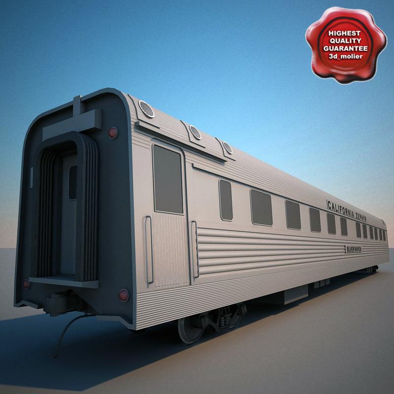 maya cbq silver larch passenger train