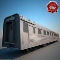 CBQ Silver Larch Passenger Train
