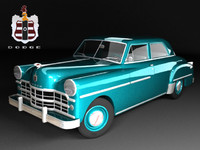 dodge coronet 2-door coupe 3d model