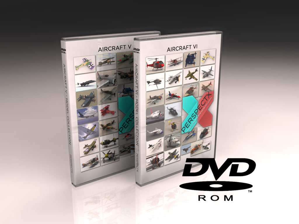 aircraft dvd v helicopter 3d model