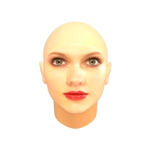 obj female eyes