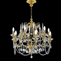 flamina chandelier classic fbx