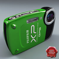 3d max fujifilm finepix xp30 green