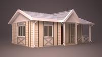 homes building 3d model
