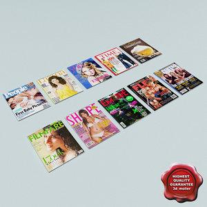 journals v3 3d max