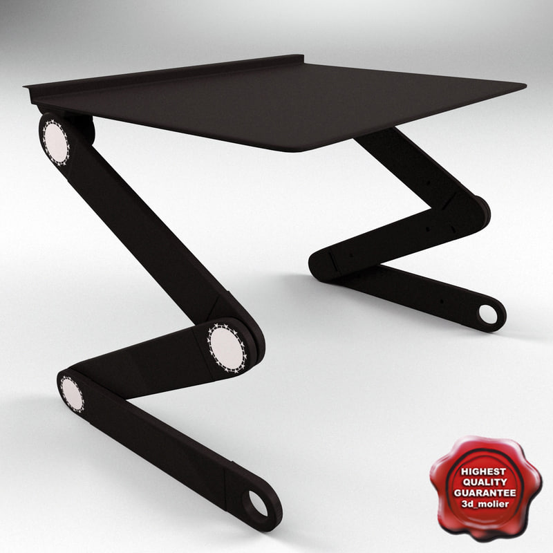 3d laptop table