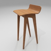 Bar Stool 21 - Morph by Formstelle