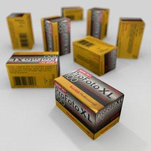 3d model box exposure