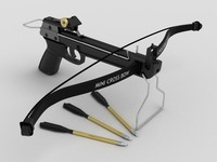 3d hand crossbow