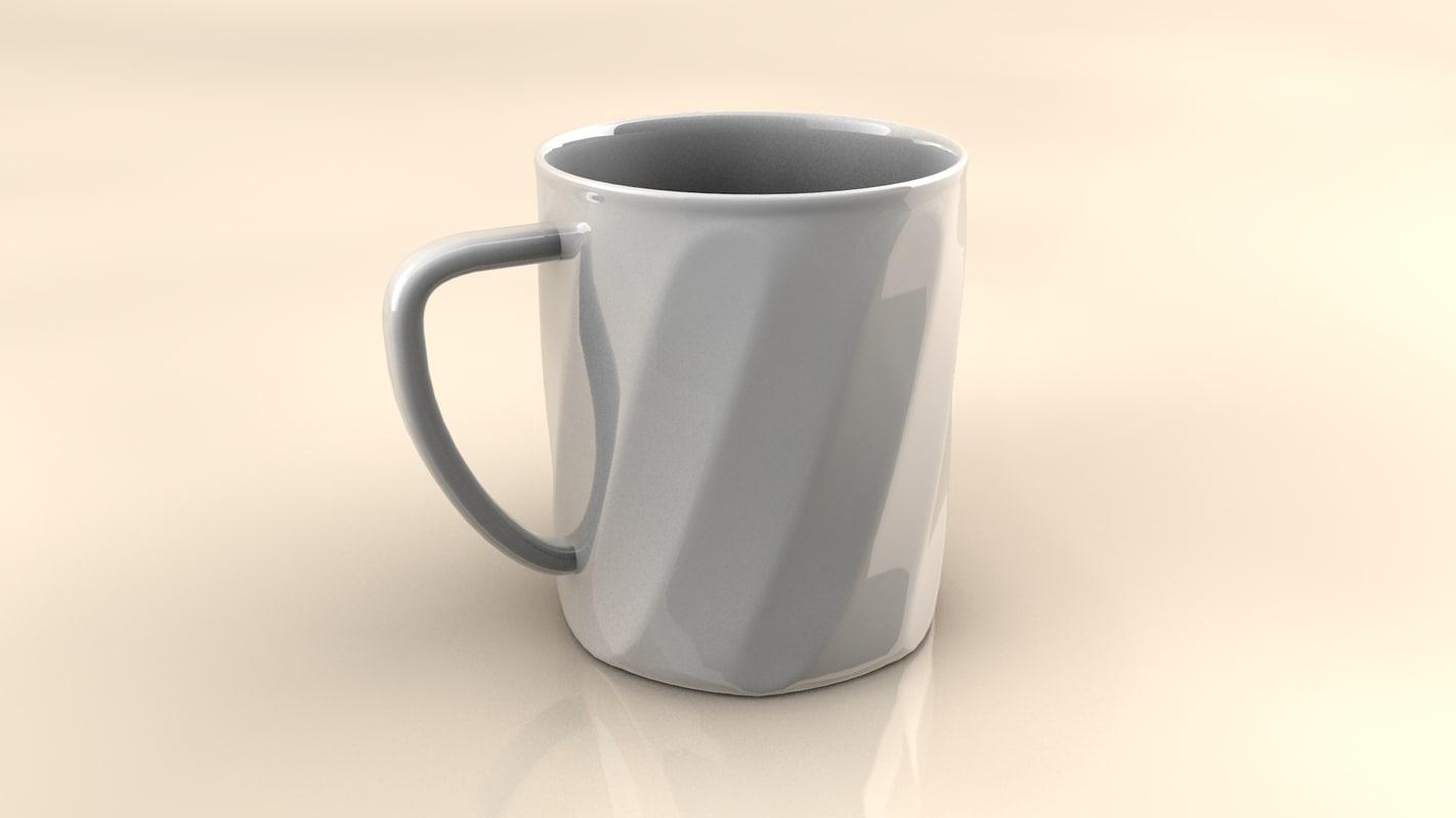 cup 3d c4d