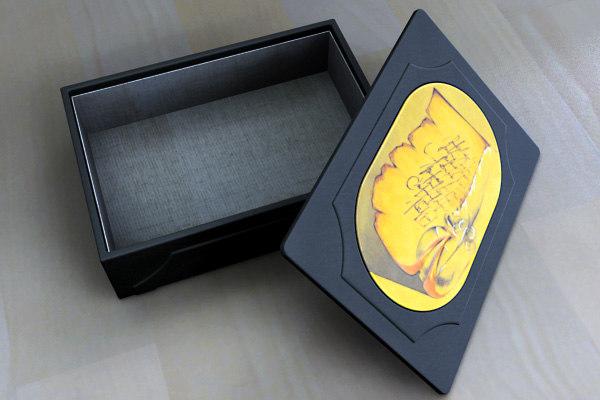 3d model leather decorative box