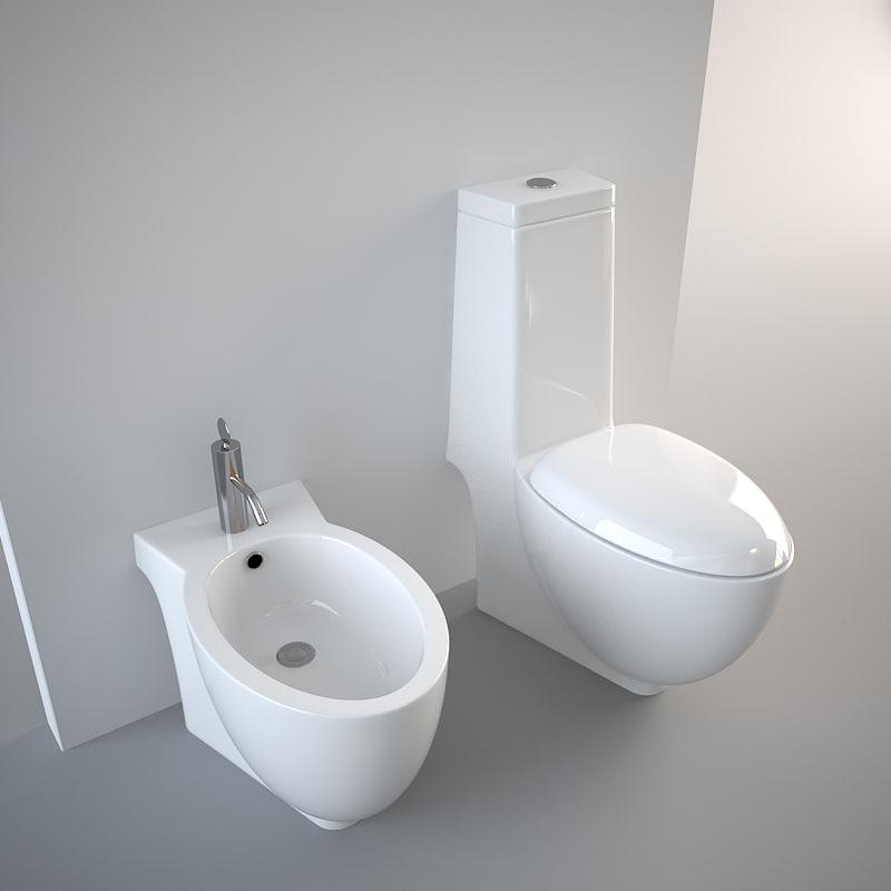 dwg toilet bidet generic
