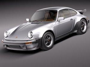 porsche 911 930 turbo 3d model