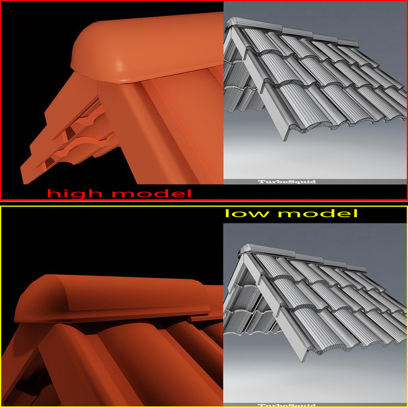 model roof