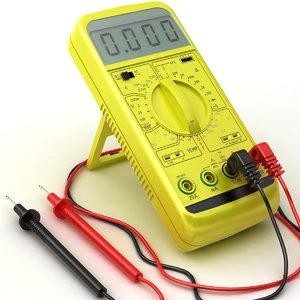 multimeter modelled 3d 3ds