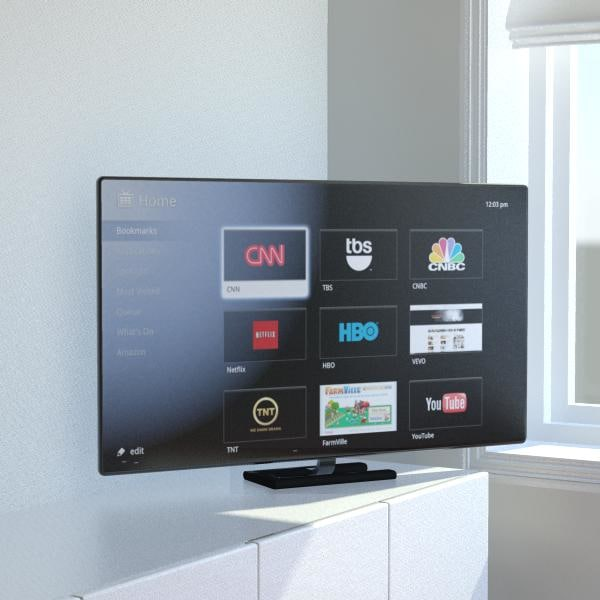 3d tv set inch
