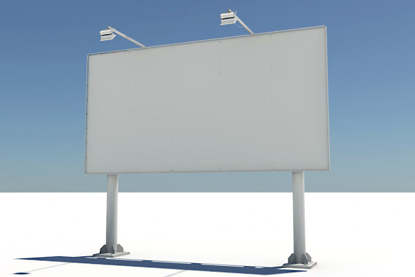 billboard highway 3d ma