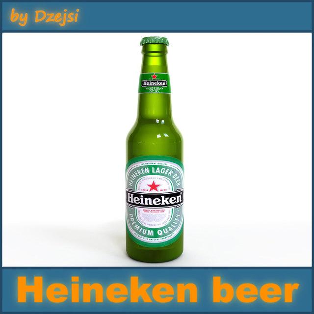 heineken beer bottle max