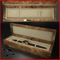 Wood Watch Box