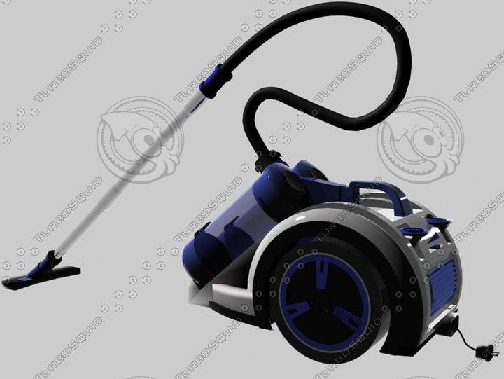 3ds max vacuum clenaer