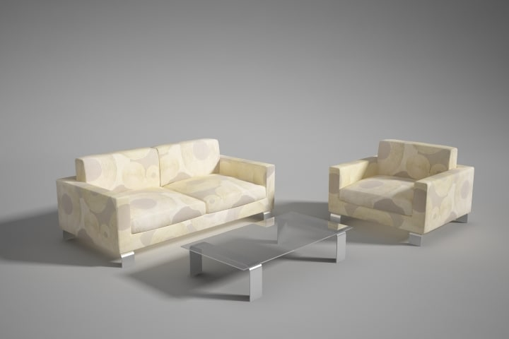 max sofa set realtime architectural visualization