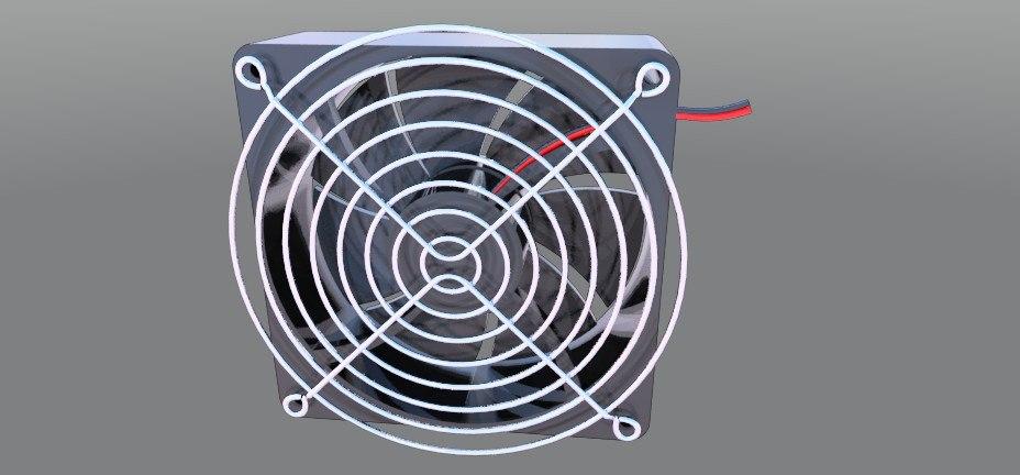 4-11 cooling fan 3d model